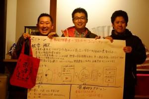 team2 発表内容 【農家と消費者の双方向プロモーション】